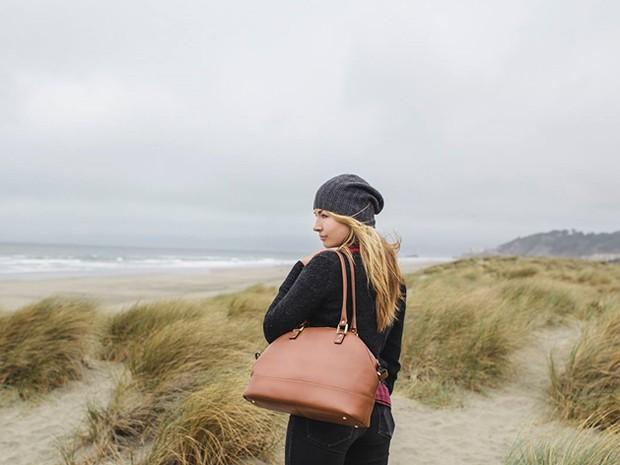 A fotógrafa Helena Price, de San Francisco, nos EUA (Foto: Arquivo pessoal/Nina Westervelt)
