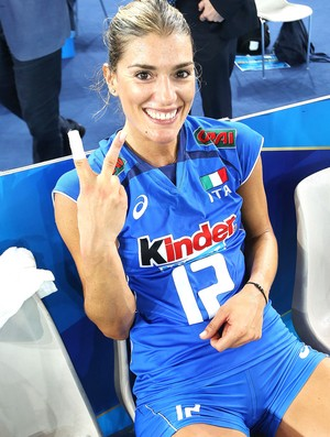 Francesca Piccinini, Itália - Mundial de Vôlei (Foto: Divulgação / FIVB)