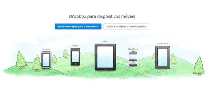 Dropbox tem versões para mais plataformas (Foto: Reprodução/Paulo Alves)