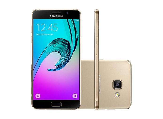 Galaxy A5 2016 tem tela Full HD (Foto: Divulgação/Samsung)