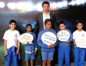 Paulo André evento jogador Corinthians (Foto: Rodrigo Faber)