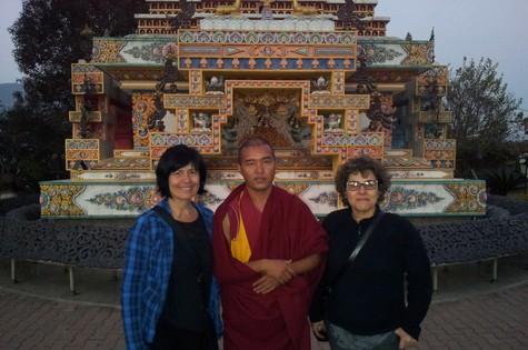 Thelma Guedes e Duca Rachid no Nepal (Foto: Arquivo pessoal)