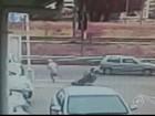 Câmera flagra roubo e agressão a cadeirante em Jundiaí; vídeo