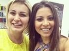 Namorada de Thammy Miranda tieta Andressa Urach: 'Admiro sua coragem'