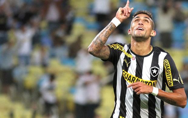 Rafael Marques comemoração gol do Botafogo contra o Coritiba (Foto: Vitor Silva / SSPress)