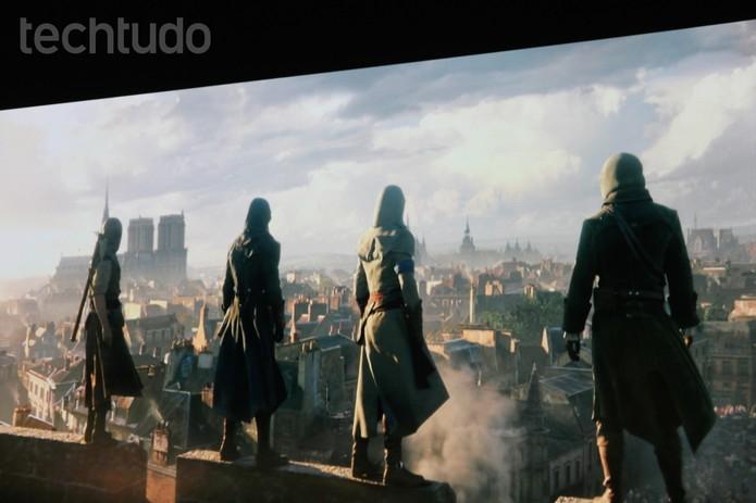 E3 Ubisoft Assassins Creed (Foto: Isadora Díaz/TechTudo)