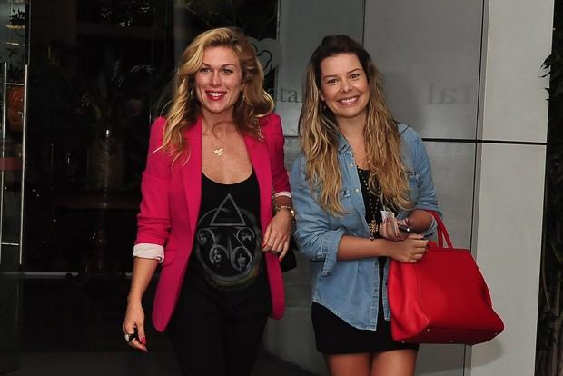 Ludmilla Dayer e Fernsna Souza (Foto: Roberto Teixeira/EGO)