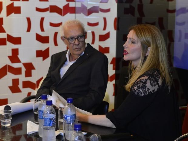 Ney Latorraca e Maria Padilha participam de leitura no Rio (Foto: André Muzell/ Ag. News)