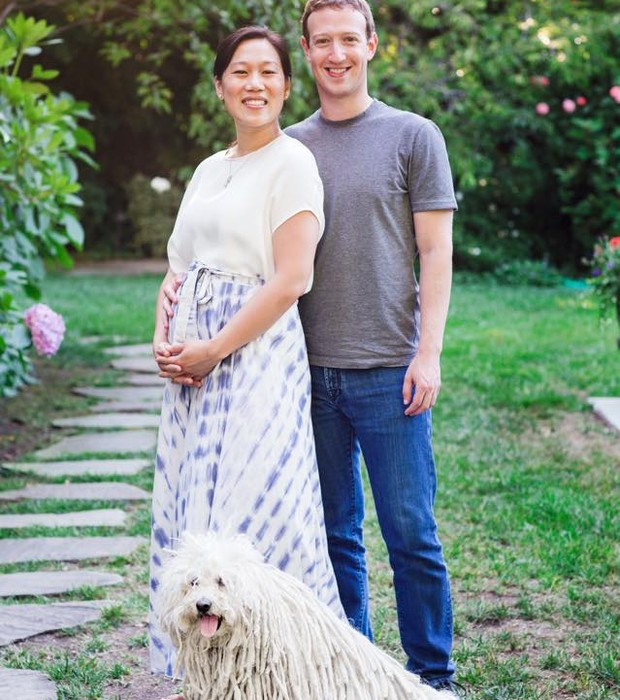 """""""Cilla"""" e """"Zuck"""": casal anunciou no Facebook que terá uma menina (Foto: Divulgação)"""