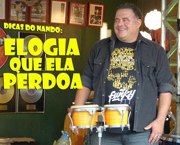 Dica do Nando: Elogia que ela perdoa (Foto: Malhação / TV Globo)