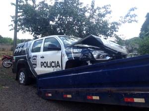 Conserto de caminhonete custou R$ 23 mil  (Foto: Divulgação/Polícia Civil)