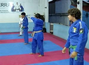 Judocas do Tocantins participarão de treinamentos fora do estado (Foto: Reprodução/TV Anhanguera)