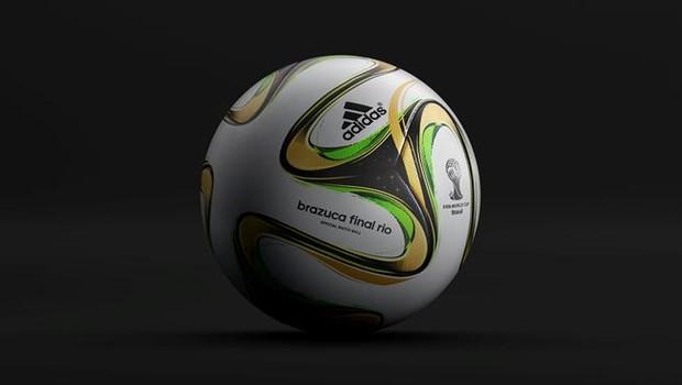 Fifa divulga imagem oficial da bola que será usada na final da Copa ... 9e1d57e3e8749