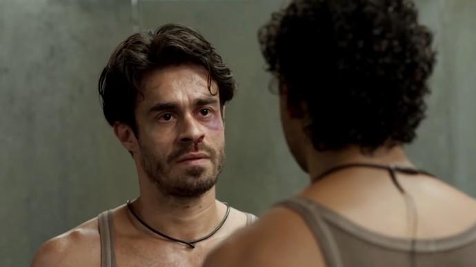 Sergio e Artur se enfrentaram após prova do líder (Foto: TV Globo)