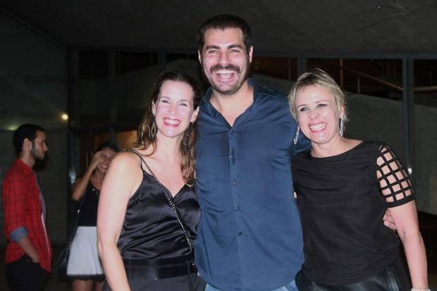 Vanessa Lóes, Thiago Lacerda e Giulia Gam (Foto: Graça Paes/ Ag. Brazil News)