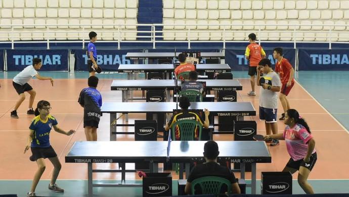 tênis de mesa (Foto: Antônio Lima/Sejel)