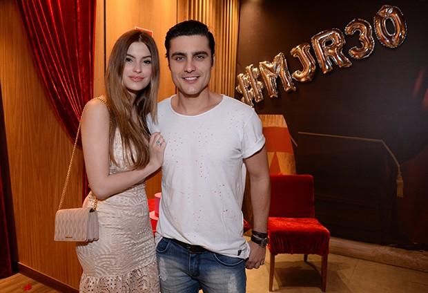 Bruna Altieri e Guilherme Leicam (Foto: Leonardo Marinho/ Brazil News)