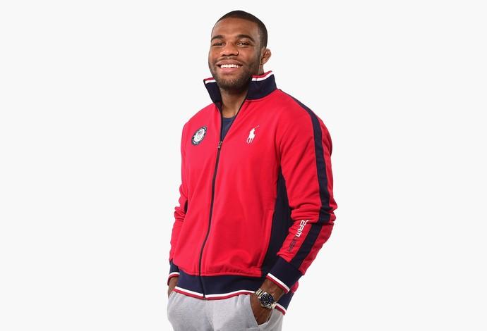 Jordan Burroughs, da luta olímpica (Foto: Harry How / Getty Images Sport)