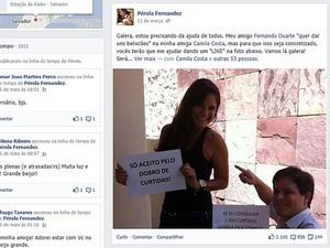 Casal (Foto: Reprodução/Facebook)