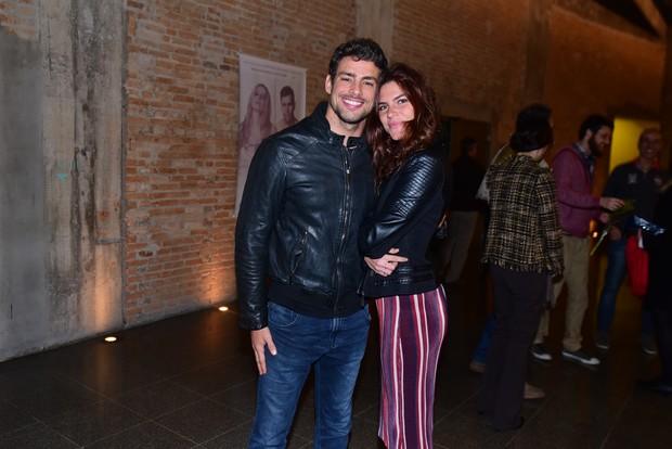 Cauã Reymond e Mariana Goldfarb  (Foto: Leo Franco / AgNews)