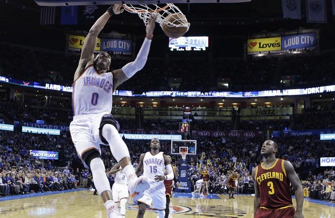 Russell Westbrook Oklahoma x Thunder NBA - AP (Foto: AP)