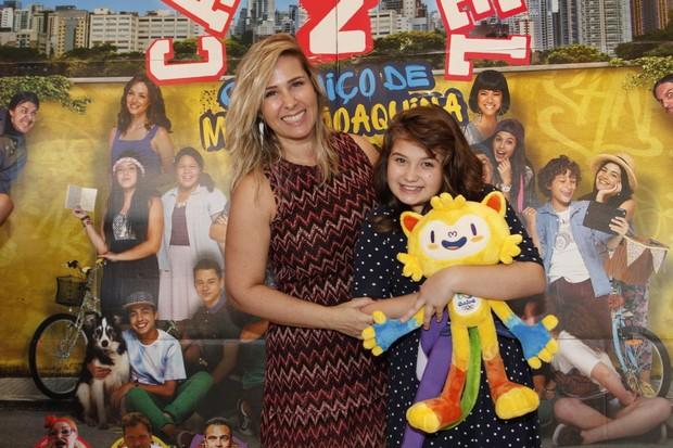 Andréia Sorvetão em estreia do filme Carrosel (Foto: Marcos Ferreira /Brazil News)