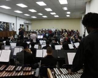 Banda Sinfônica se apresenta em Barra Mansa (Foto: Fabricio Rezende/ Divulgação OSBM)