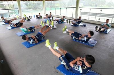palmeiras treino grupo itu (Foto: Cesar Greco/Ag. Palmeiras/Divulgação)