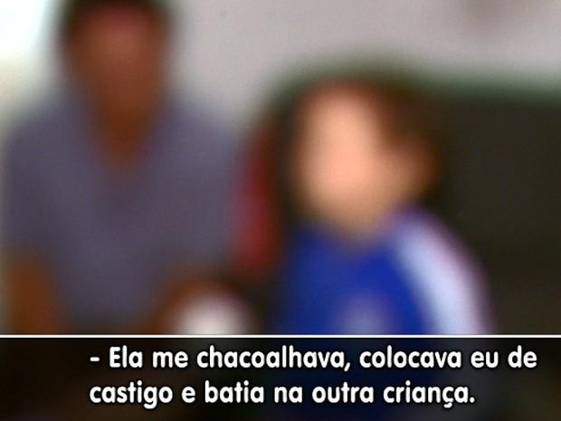 Menino de 4 anos dizia que monitora era brava, mas família não acreditava (Foto: Paulo Chiari/EPTV)