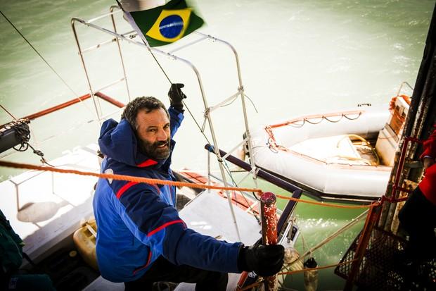 Domingos Montagner como Miguel em Sete Vidas, em 2014 (Foto: TV Globo / João Miguel Júnior)