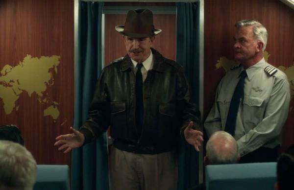 Warren Beatty no papel do milionário Howard Hughes (Foto: Reprodução)