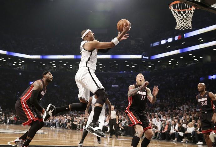 paul pierce Miami Heat x Brooklyn Nets (Foto: EFE)