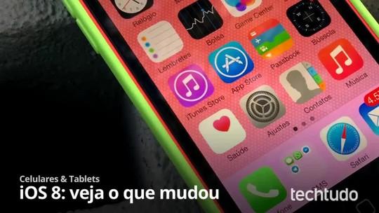 iOS 8 chega para usuários de iPhone e iPad; saiba como instalar