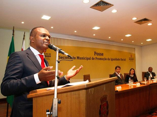 Secretário municipal de Igualdade Racial Maurício Pestana (Foto: Divulgação )