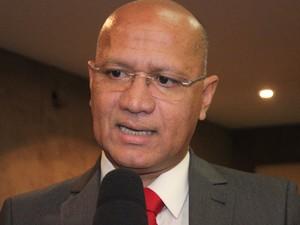 Secretário de Administração, Francisco José, o Franzé, fala sobre nova gestão (Foto: Gilcilene Araújo/G1)