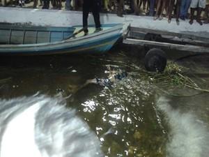 Corpo de homem é encontrado boiando em círio fluvial em Oriximiná (Foto: Divulgação/Polícia Civil de Oriximiná)