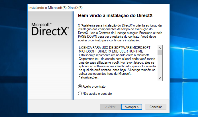 Atualize o DirectX (Foto: Reprodução/Paulo Alves)