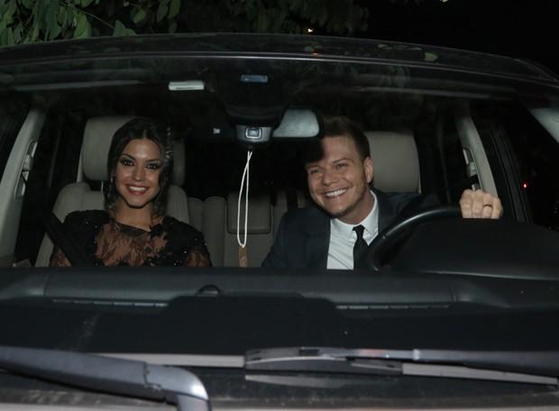 Thais Fersoza e Michel Teló (Foto: Francisco Cepeda/AGNews-SP)