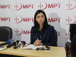 Acordo vai beneficiar mais de 500 profissionais de acordo com a procuradora do Trabalho Safira Nila Rodrigues (Foto: Divulgação/ MPT-RR)