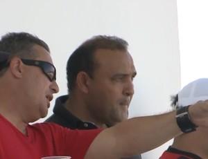 Leandro Machado, técnico do Campinense  (Foto: Reprodução / TV Paraíba)