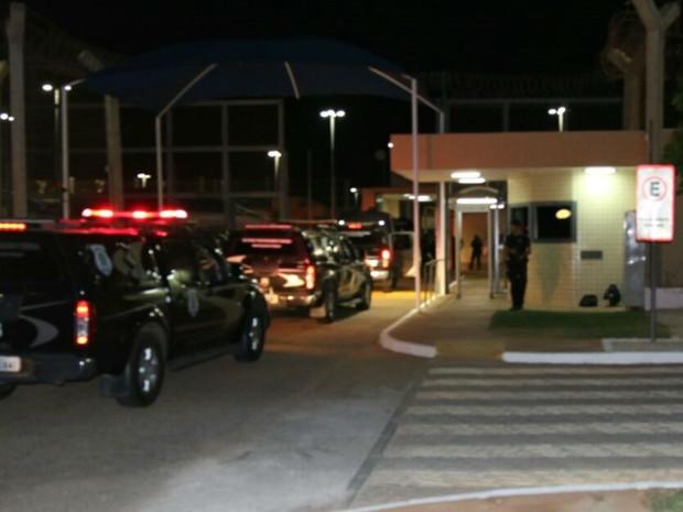 Operação para trazer detentos do AC e do AM ao RN terminou nesta sexta (13) (Foto: Divulgação)