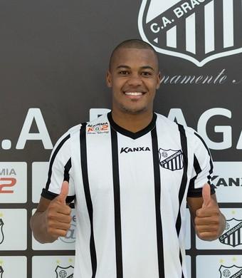 Eliandro atacante Bragantino (Foto: Rafael Moreira/C.A. Bragantino)
