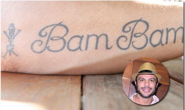 Tatuagem de Kléber Bambam (Foto: Reprodução)