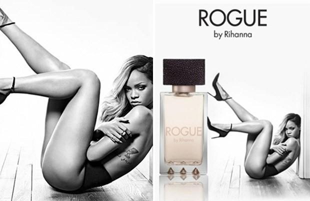 Rihanna perfume Rogue (Foto: Divulgao.)