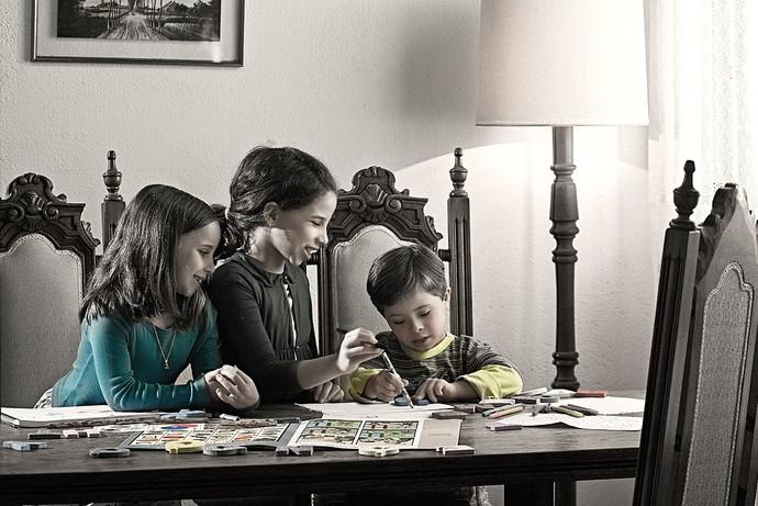 Arthur, Mariana e Milena (Foto: Leonardo Luz/Divulgação)