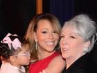 Mariah Carey posa com a mãe e a filha: 'Muito amor'