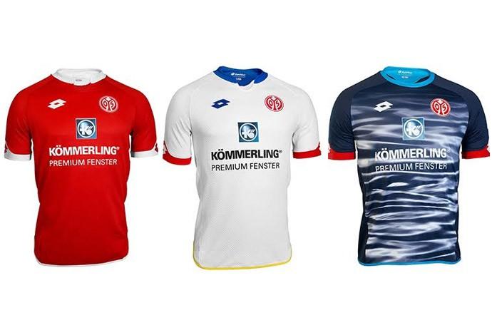 Camisas alemão - mainz