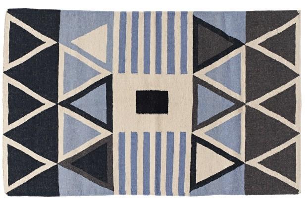 Tapete Louise, de lã e algodão. Todos os modelos estão disponíveis em vários tamanhos, sob encomenda (Foto: Divulgação)