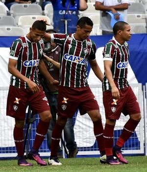 richarlison gol comemoração (Foto:  MAILSON SANTANA / FLUMINENSE FC)