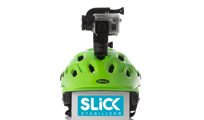 Stabilizador Slick permite gravações perfeitas com a Go Pro, sem tremer (Foto: Divulgação/IndieGogo)